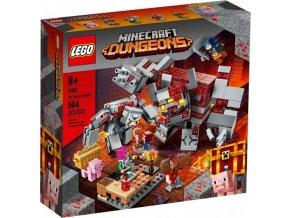 LEGO Minecraft 21163 Bitva o rudit