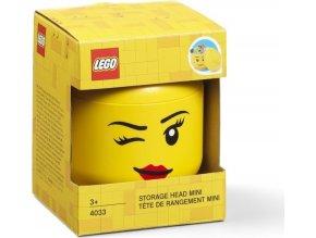 LEGO Box hlava Whinky (holka) velikost mini
