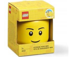LEGO Box hlava Chlapec (kluk) velikost mini