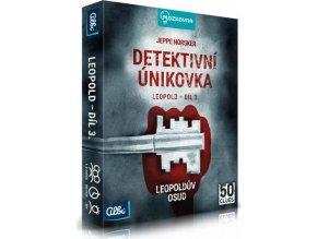 Albi Mozkovna Detektivní únikovka Leopold - 3.díl Leopoldův osud