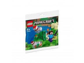 LEGO 30393 Minecraft Steve a creeper 1000x1000