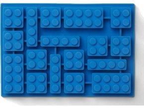 LEGO Iconic silikonová forma na led modrá
