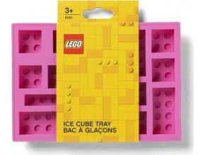 LEGO Iconic silikonová forma na led růžová