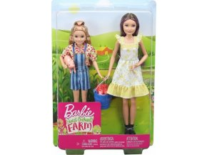 Barbie farmářky Skipper a Stacie