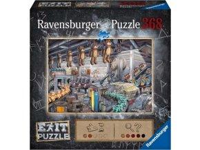 Ravensburger 16484 Exit Puzzle: V továrně na hračky 368 dílků