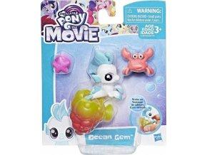 MLP My Little Pony Mini pony s přísavkou a doplňky Ocean Gem
