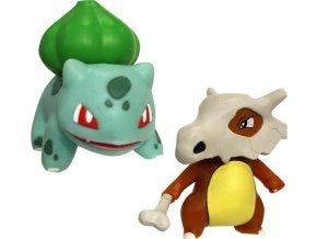 Pokémon Akční bojové figurky Bulbasaur & Cubone