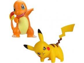 Pokémon Akční bojové figurky Pikachu & Charmander