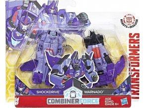 Transformers RID Kombinátor Shockdrive a Warnado