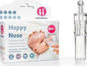 Petite&Mars Odsávačka nosních hlenů na vysavač Happy Nose Petite&Mars 0m+