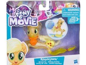 My Little Pony morsky ponik s doplnkem a pohyblivym ocaskem applejack