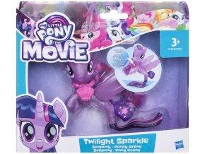 My Little Pony morsky ponik s doplnkem a pohyblivym ocaskem Twilight Sparkle