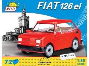 Cobi 24531 Youngtimer – FIAT 126p (Maluch) 1:35
