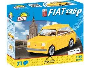 Cobi 24530 Youngtimer – Polski Fiat 126p 1:35