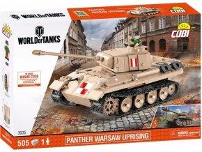 Cobi 3035 World of Tanks Partner V Varšanské povstání