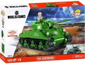 Cobi 3007 World of Tanks M4 Sherman