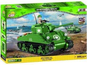 Cobi 2464 SMALL ARMY - II WW M4A1 Sherman