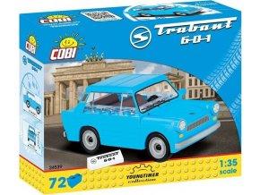 Cobi 24539 Youngtimer – TRABANT 601 DDR