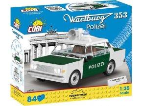 Cobi 24558 Youngtimer – WARTBURG 353 POLICIE