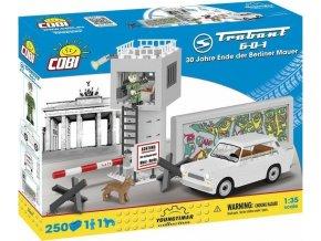 Cobi 24557 Youngtimer – TRABANT 601 DDR Berlínská zeď