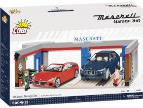Cobi 24568 - Maserati Garáž