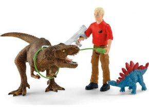 Schleich 41465 Útok Tyranosaura Rexe