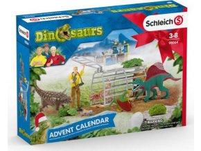 Schleich 98064 Adventní kalendář Dinosauři 2020