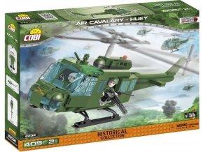 Cobi 2232 Vietnam War Americký vrtulník HUEY Bell UH-1 Iroquois