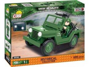 Cobi 2230 SMALL ARMY Vietnam War: Terénní automobil 151 A1 MUTT