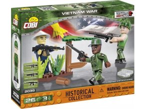 Cobi 2038 SMALL ARMY – 3 figurky s doplňky Vietnamská válka
