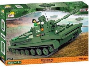 Cobi 2235 Vietnam War Sovětský obojživelný tank PT-76