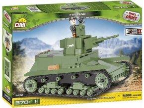 Cobi 2456 SMALL ARMY – II WW Polský tank 7TP
