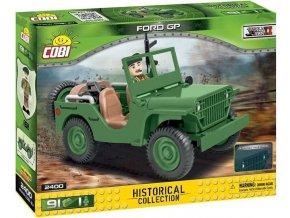 Cobi 2400 SMALL ARMY – II WW: terénní automobil Ford GP