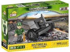 Cobi 2398 SMALL ARMY – II WW 7,5 cm PaK 40
