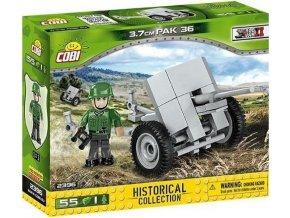 Cobi 2396 SMALL ARMY – II WW 3,7 cm PaK 36