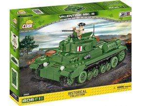 Cobi 2521 SMALL ARMY – II WW Infantry Tank Mk III Valentine