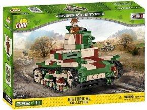 Cobi 2520 SMALL ARMY – II WW Vickers Mk E Type B