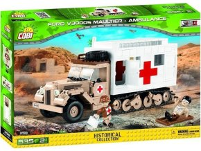 Cobi 2518 SMALL ARMY – Ford V3000S Maultier Ambulance
