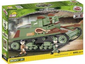 Cobi 2512 SMALL ARMY – II WW Tank 7TP DW