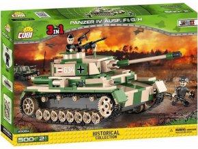 Cobi 2508A SMALL ARMY - Panzer IV Ausf. F1/G/H