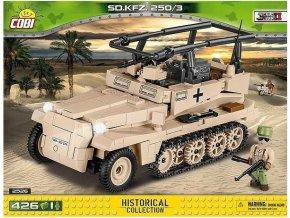 Cobi 2526 SMALL ARMY – Sd.Kfz 250/3 (DAK)