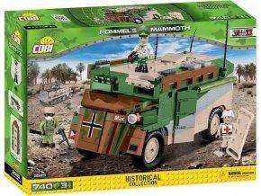Cobi 2525 SMALL ARMY – II WW Rommelův Mammut