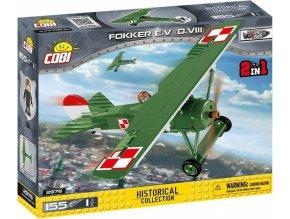 Cobi 2976 Great War - Fokker E.V (D. VIII)