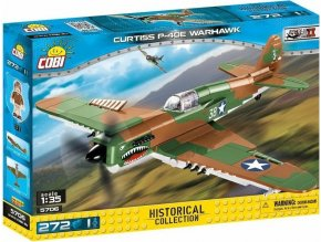 Cobi 5706 SMALL ARMY – II WW Curtiss P-40E Warhawk