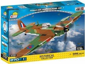Cobi 5709 SMALL ARMY – II WW Hawker Hurricane Mk I, 1 : 35