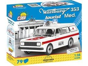 Cobi 24559 Youngtimer Wartburg 353 Sanitka, 1 : 35