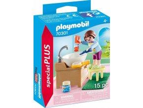 PLAYMOBIL 70301 Holčička při čištění zoubků