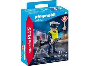 PLAYMOBIL 70304 Policista s radarem