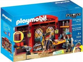 PLAYMOBIL 5658 Přenosný kufřík Pirátská skrýš