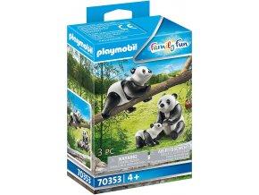 70353 2 Pandas mit Baby 01 o